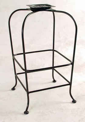 100 series bar stool base without back or seat