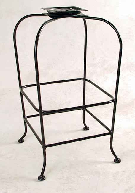 ... 100 series bar stool base without back or seat  sc 1 st  Grace Wrought Iron & Metal Bar Stool Bases by Grace islam-shia.org