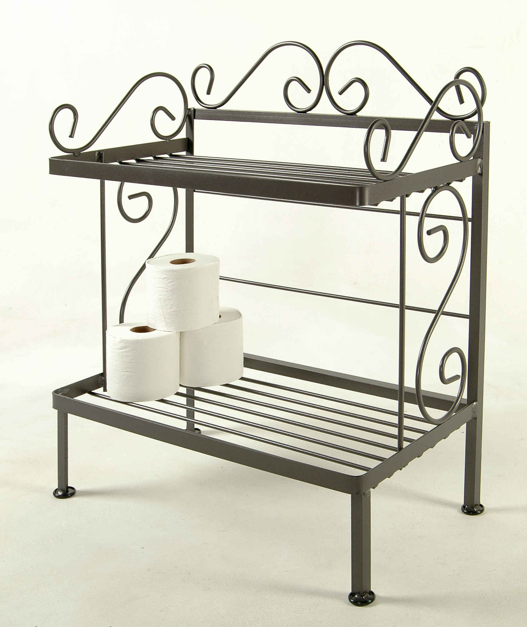 Grace Bathroom Storage Racks for towels and bath room tissue