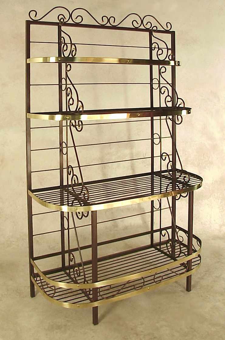 wide bakers rack