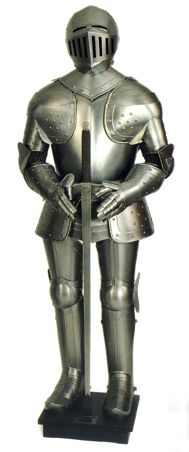 White knight medieval ...