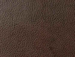 Avanti pecan brown grained faux leather fabric