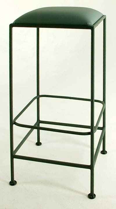 Wrought Iron Bar Stools Backless