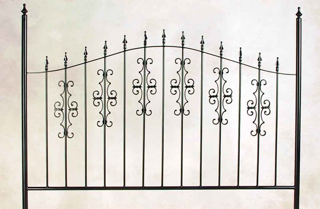 Grace Wrought Iron Beds Headboards Metal Frames