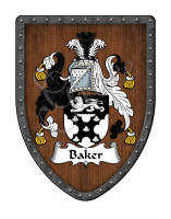 Baker Coat of arms with family crest