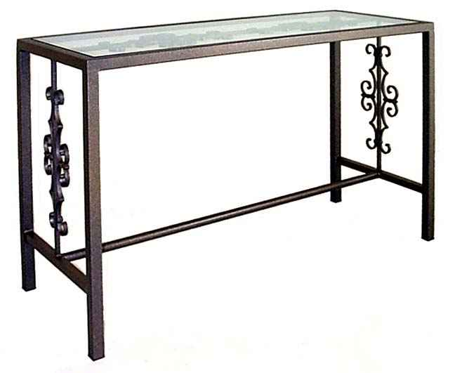 Sofa Table Additional Ornamentation Styles Cn4919 G Gothic Console 49 X 19 30 Tall Includes 1 2 Gl Top