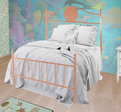Coral Reef wrought iron bed
