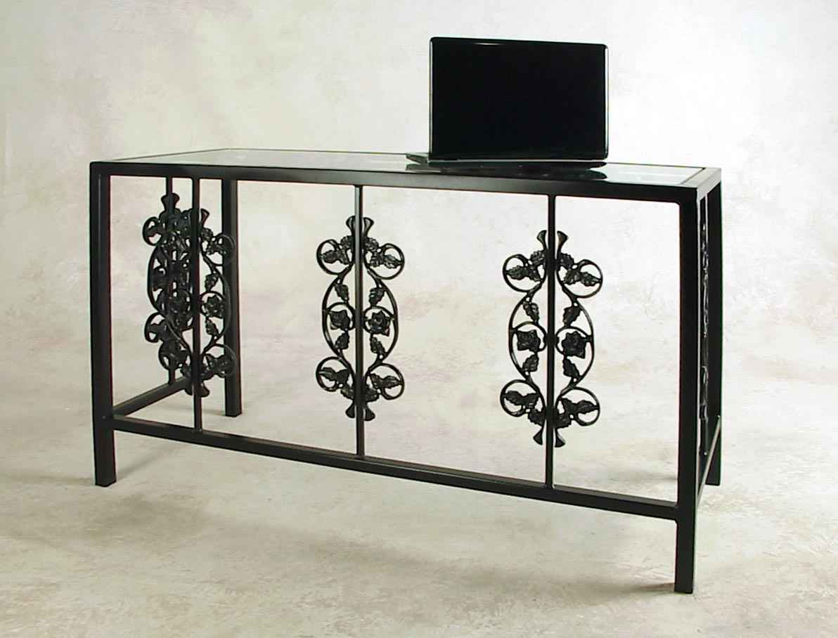 Wrought Iron Vanity Wrought Iron Desks And Vanity Tables