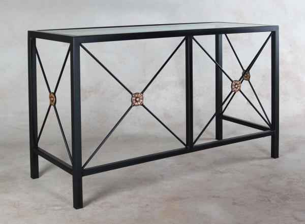 Wrought Iron Desk