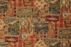 Gone Fishing fabric
