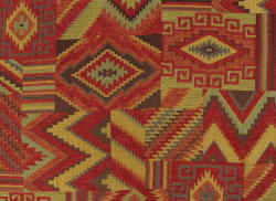 Lakota Chipotler red Native themed American fabric