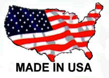 Hande made in the USA sign
