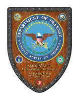 Mattis Custom military shield