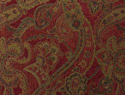 Liza Rouge Paisley fabric
