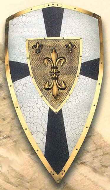 Medieval Shields And Decorative Wall Displays