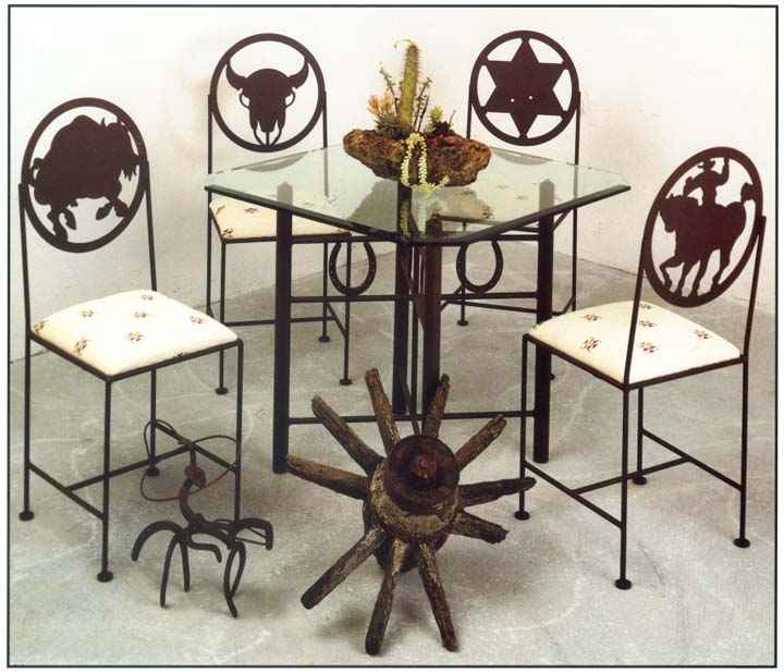 Western Tables Chairs And Bar Stools