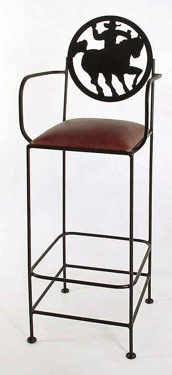 Frontier Western Bar Stools Kitchen Counter