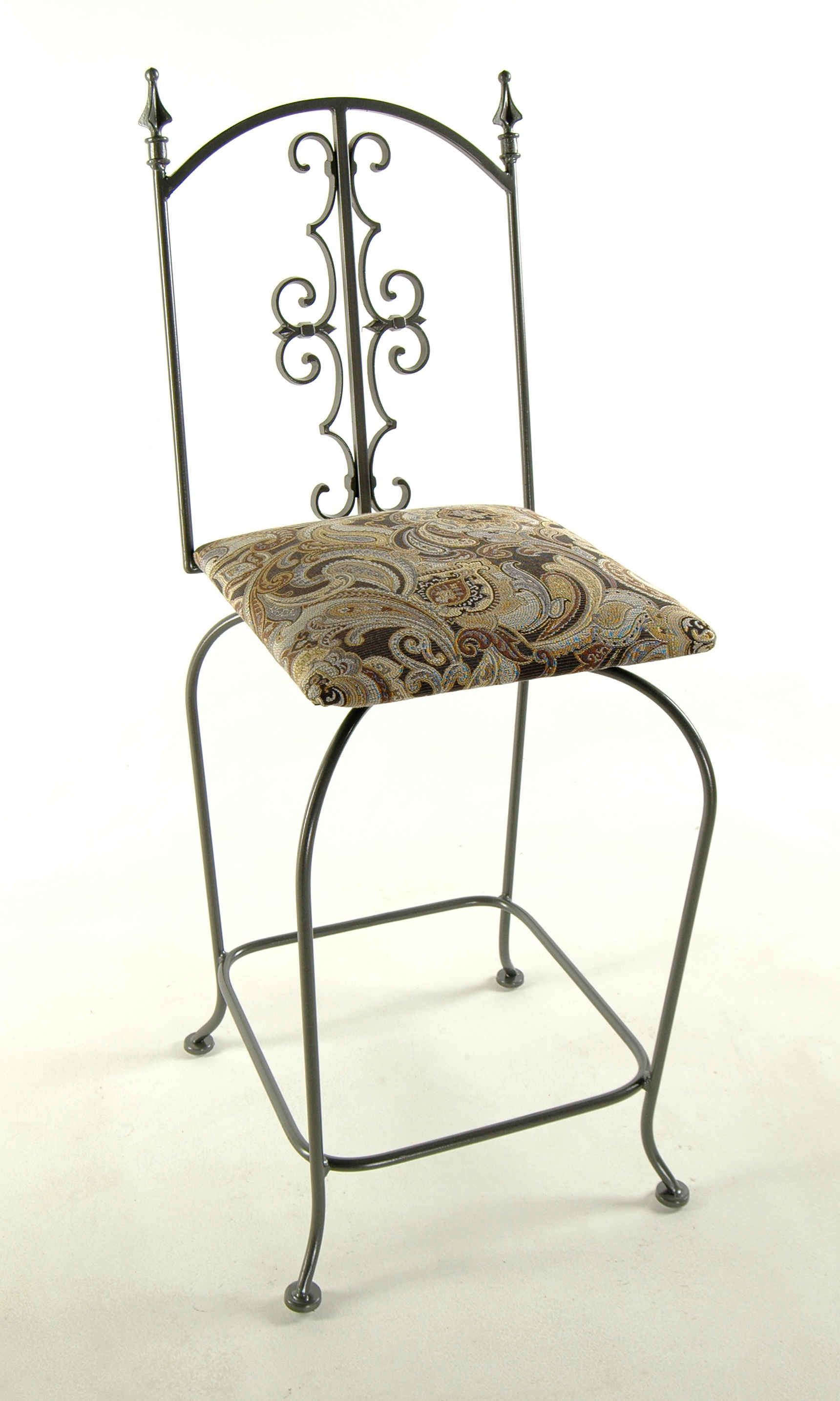 Gothic Kitchen Counter Bar Stools Wrought Iron