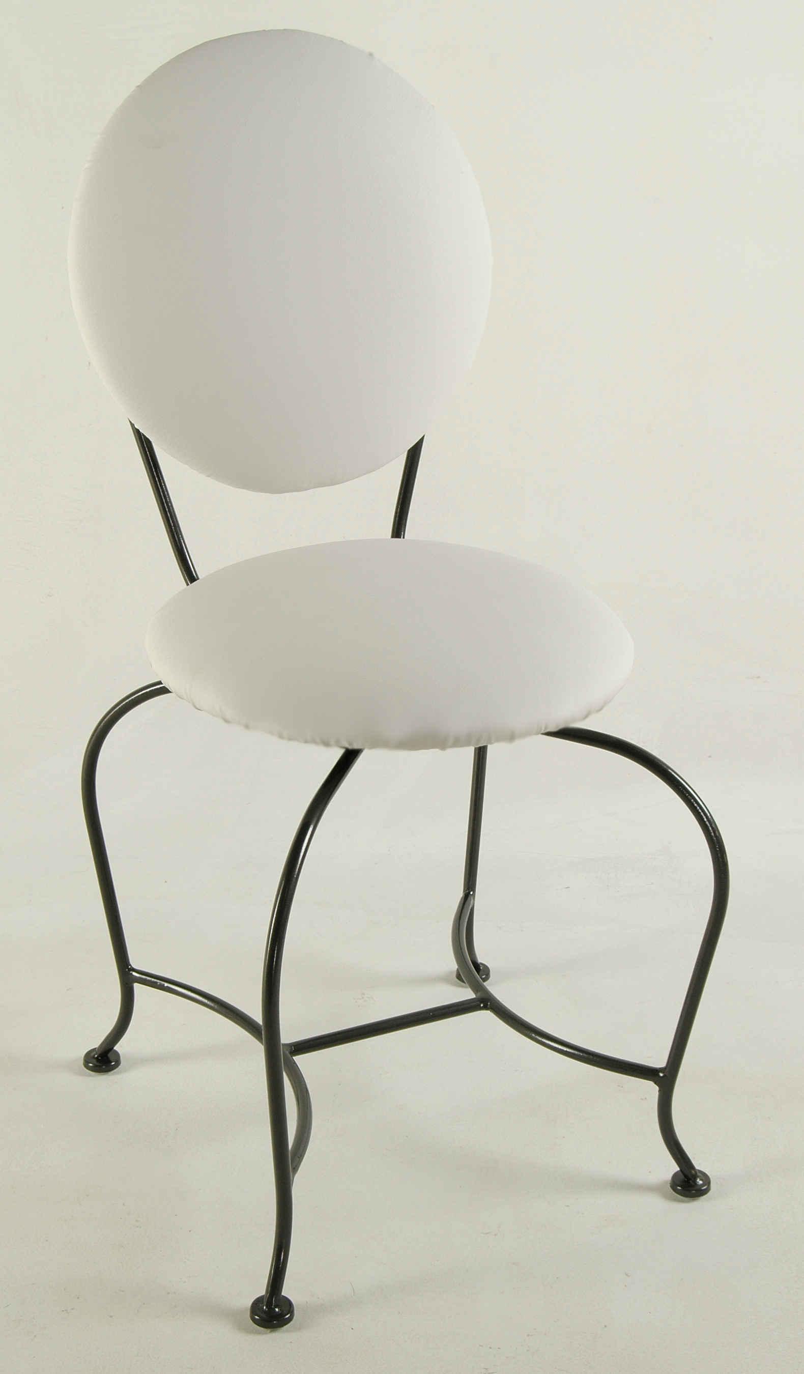 Excellent Vanity Stool Wrought Iron Creativecarmelina Interior Chair Design Creativecarmelinacom