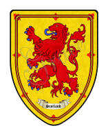 Scotland custom coat of arms