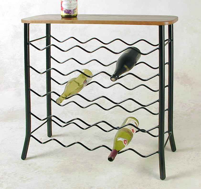 Wholesale Wrought Iron Wine Racks Metal