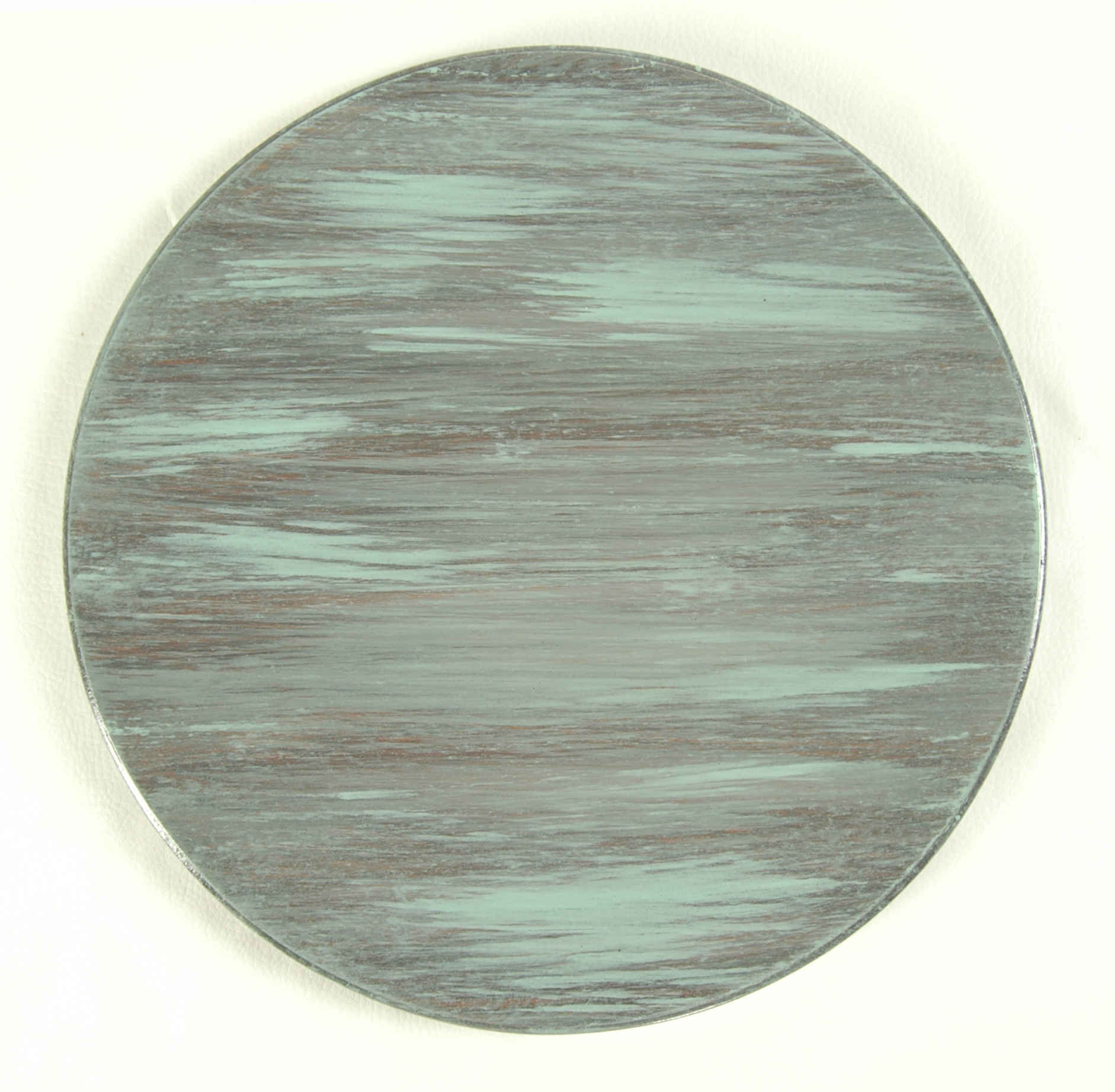 Teal Barnwood Finish Wood Table Top